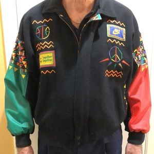 Original Vintage Spike Lee Urban Jungle Gym Jacket